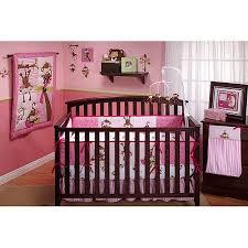 little bedding by nojo 3 little monkeys 10pc nursery in a bag crib