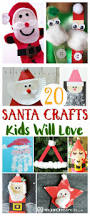 20 santa crafts kids will love u2013 mama instincts