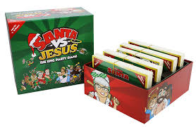 Homemade Games For Adults by Amazon Com Santa Vs Jesus The Epic Party Game Toys U0026 Games