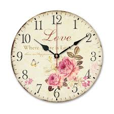 country kitchen wall clocks brand new vintage rustic country