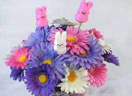 Easter Decorating Ideas With Peeps by Easter Centerpiece Two Sisters Crafting