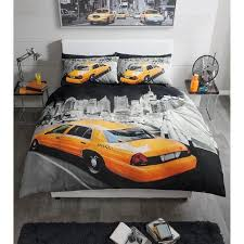 New York City Duvet Cover Single Double And King Size Duvet Covers Modern New York Yellow