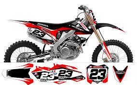 2012 factory13 kit deco pour honda crf 450 2009 2012 et 250 2010
