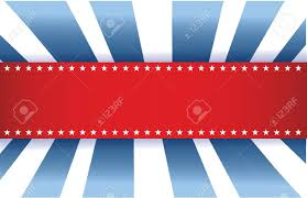 American Flag Design American Flag Design Red White And Blue Background Royalty Free