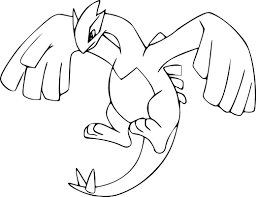 lugia ex pokemon coloring pages images pokemon images