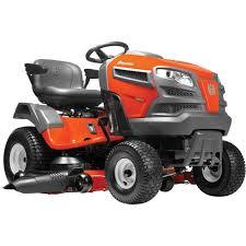 husqvarna riding lawn mower u2014 22v briggs u0026 stratton intek v twin