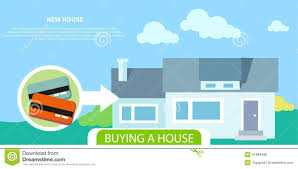 buying house stock vector image 51683496