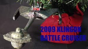 day 11 klingon battle cruiser trek 2009 hallmark keepsake