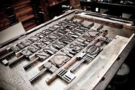 letter press letterpress joshua stocker