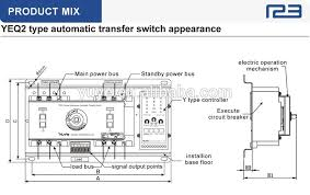 mccb 3 phase generator automatic changeover switch buy