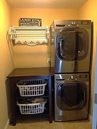 Laundry Room Storage Units by Breathtaking Small Laundry Room With Double Silver Washing Machine