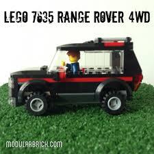 land rover lego lego 7635 3 modular brick