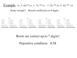 square root of 289 computing ill conditioned eigenvalues ppt download