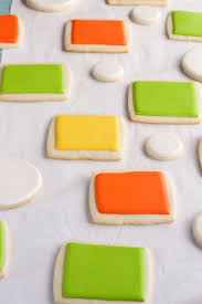 Decorated Halloween Sugar Cookies by Simple Halloween Cookies Made With Fun Stencils The Bearfoot Baker