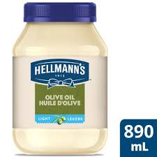 hellmans light mayo nutrition hellmann s light olive oil mayonnaise walmart canada