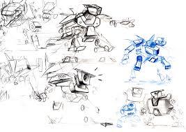 jannik becker industrial design hs osnabrück robot sketches