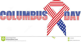 American Flag In Text Columbus Day American Flag Text Picture