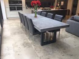 diy concrete dining table captivating best 25 concrete dining table ideas on pinterest in room