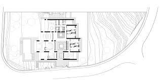 contemporary floor plan ground floor plan contemporary home in monasterios spain