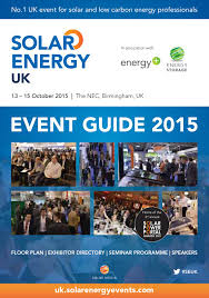 Nec Birmingham Floor Plan Solar Energy Uk 2015 Guide By Henley Media Group Issuu