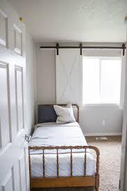 bedroom window treatment diy barn door window treatment the home depot blog