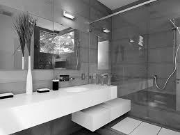 white vanity bathroom ideas long mirror on the gray wall combined with long white vanity with