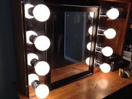 8x lighted vanity mirror lighted makeup mirror the difference between led fluorescent and