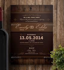rustic wedding invitation templates theruntime