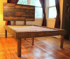 the 25 best rustic wood bed frame ideas on pinterest rustic