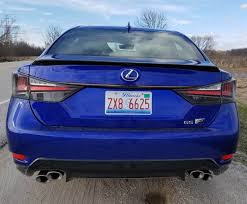 lexus gs 450h v8 2017 lexus gs f savage on wheels