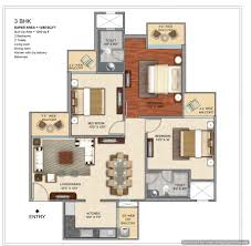 prateek grand city floorplan