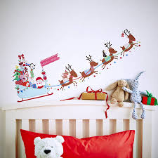 christmas wall stickers wall art kids christmas wall sticker