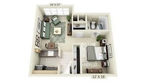 House Design Ideas Floor Plans 3d Classy Idea Tiny Apartment Floor Plans Small Design For Livework