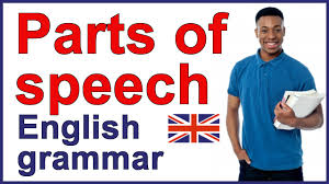 parts of speech with examples english grammar youtube