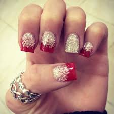 easy nail art glitter stay on trend with these sparkly glittery manicure ideas