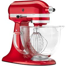 Kitchenaid Mixers On Sale by Kitchenaid 5 Qt Glass Bowl For Tilt Head Stand Mixers K5gb The