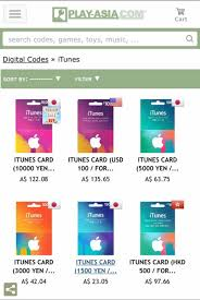 play digital gift card purchasing itunes giftcard from play asia lucky s guide for khux