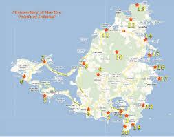map of st st maarten map