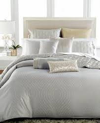hotel collection finest silver leaf king duvet cover bedding