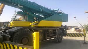 rafiq brothers kato 50 ton rough terrian crane for sale or lease