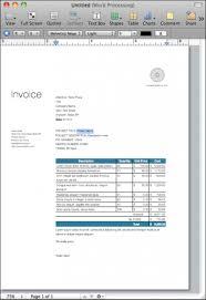 Receipt Template For Mac Invoice Template Net 30 Rabitah Net