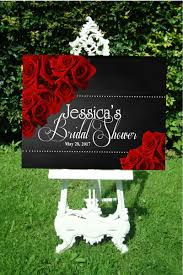 baby shower welcome sign and black welcome bridal shower sign digital welcome