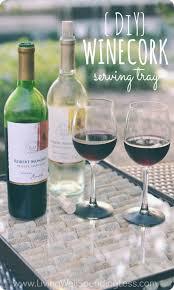 diy wine cork serving tray living well spending less