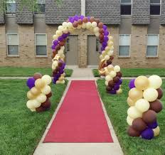 send balloons balloon arch mini columns for prom send balloons arches by
