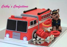firetruck cake best 25 truck cakes ideas on firefighter