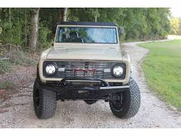 prerunner bronco bumper 1968 ford bronco for sale classiccars com cc 1022381