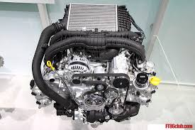 subaru wrx engine turbo photos of subaru boxer 1 6l direct injection turbo dit engine from