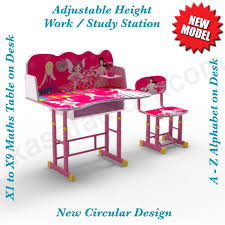 adjustable height kids table adjustable height girls kids desk chair study work station