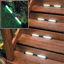 solar led deck step lights solar lights for deck steps ideal solar stair lights led latest door