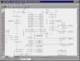 free cmos layout design software express pcb and express sch electronic circuits